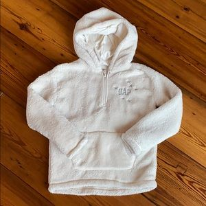 Gap Girls Sherpa Hooded Sweater